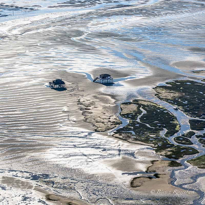 Photos aériennes au Bassin d'Arcachon